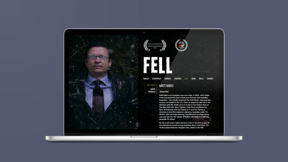 PLOT designed and developed a custom wordpress website for FELL.
