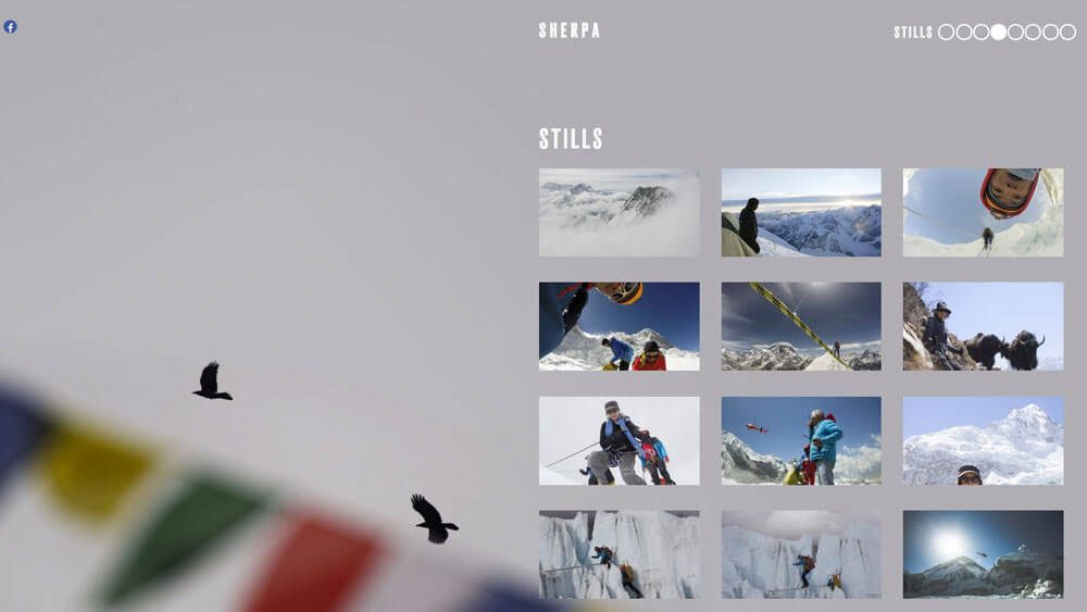 PLOT produced the website for SHERPA IN THE SHADOW OF EVEREST.