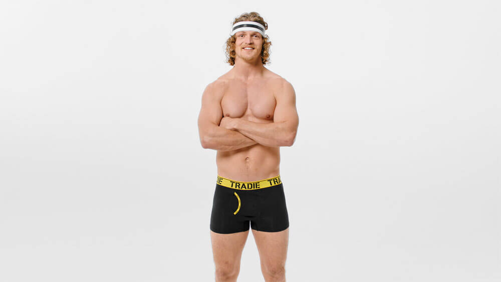 Commercial for Tradie Underwear with Nick Cummins AKA